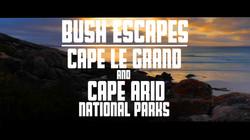 Cape Le Grande & Arid title