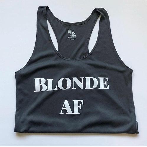 Blonde AF Women's Racerback Tank Top