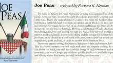 Yadkin Valley Living Magazine Review of Joe Peas