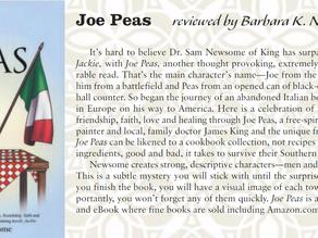 Yadkin Valley Living Magazine Review of Joe Peas