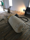 Resurfacing hardwood floors