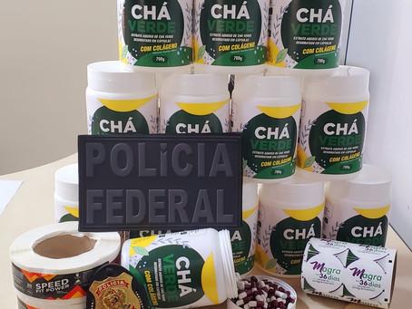 PF faz operação contra grupo de fraudava produtos para emagrecer em RO