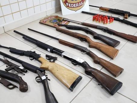 PF prende homem em flagrante que vendia armas irregulares em Porto Velho
