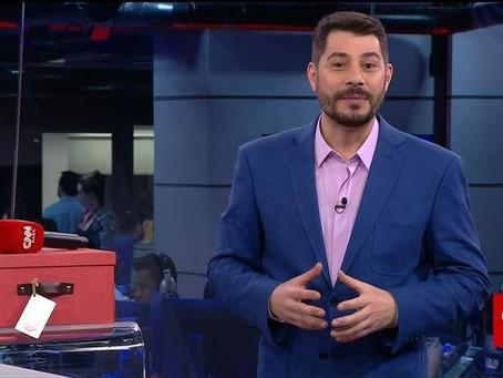 Evaristo Costa finalmente estreia na CNN Brasil após dois meses de espera