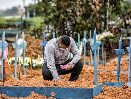 Covid-19: Brasil chega a 1,1 milhão de casos e 51,2 mil mortes
