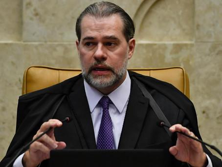 Toffoli nega pedido para afastar Moraes da relatoria de inquérito