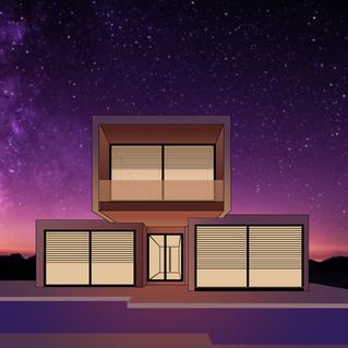 Modern Galaxy Patio