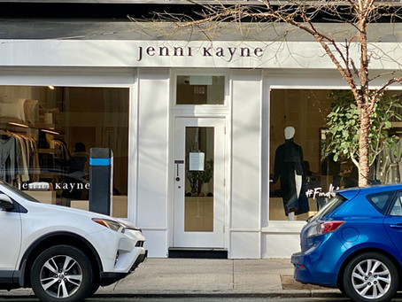 A favorite brand --@JENNIKAYNE in the Upper East SIDE  - NYC