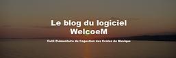 Capture Ecran Blog WelcoeM