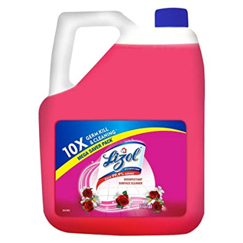 Lizol Disinfectant Surface Cleaner Floral, 5L