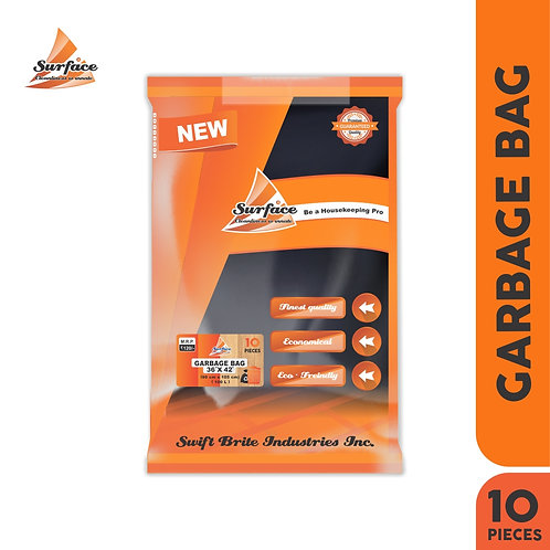 "Surface Garbage Bag, 36"" x 42"", 10 pcs Pack"