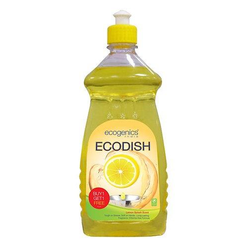 Ecogenics EcoDish Dish Wash Liquid Gel