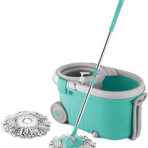Spotzero By Milton Elegant Spin Mop Mop Set  (Multicolor)