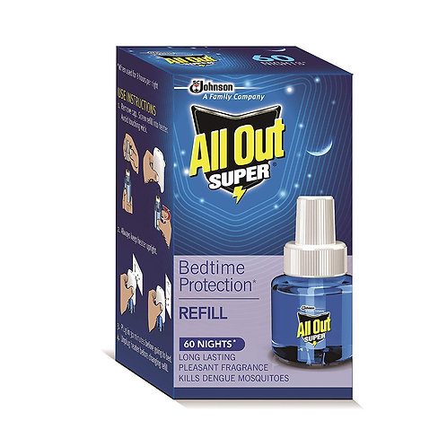 All Out Super 60 Night Refill