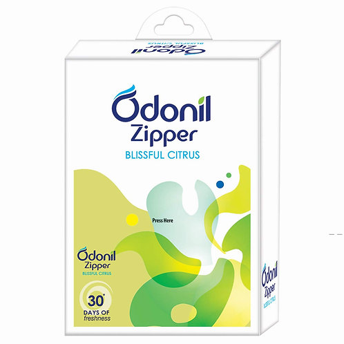 Odonil Zipper - Blissful Citrus - 10 g (Pack of 6)