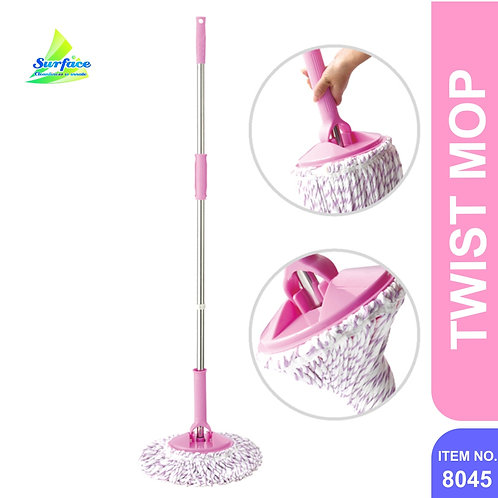 8045 Microfiber Twist Mop - SS Handle