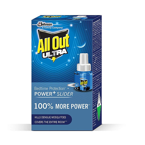 All Out Ultra Refill (45ml, Clear) 45 Nights
