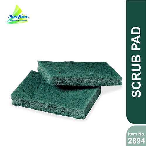 "Scrub Pad , Pack of 40 - Size 3"" x 4"""
