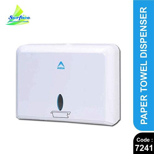 7241 ABS Paper Towel Tissue Dispenser (White)