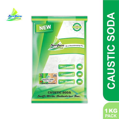Surface Caustic Soda Flakes - 1 kg Pack