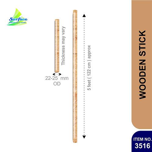 3516 Wooden Stick - 5 ft