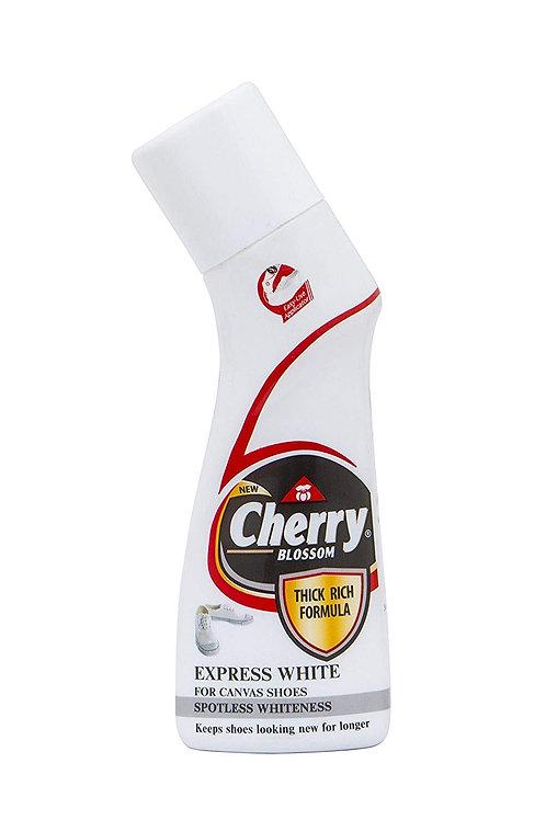Cherry Blossom Liquid Shoe Polish White - 75 ml