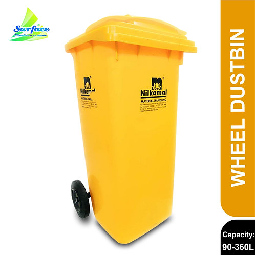 Nilkamal Wheel Garbage Waste Dustbin