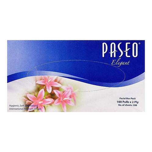 Paseo Born pure 200 Pulls - 2 ply facial tissue