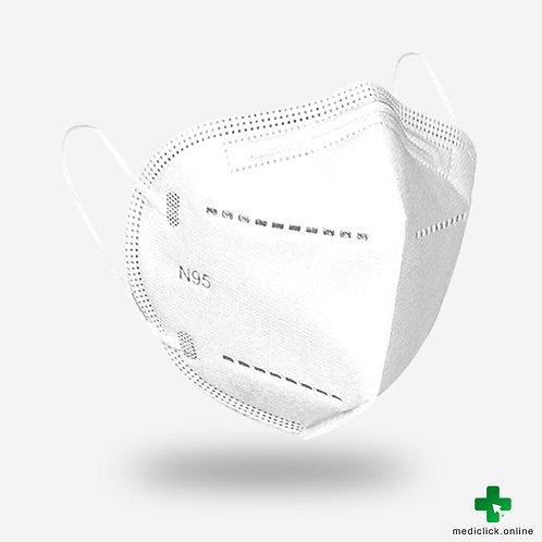 Dweej N95 5 Ply Nose Mask - White