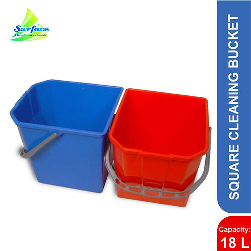 Square Cleaning Bucket , 18 L