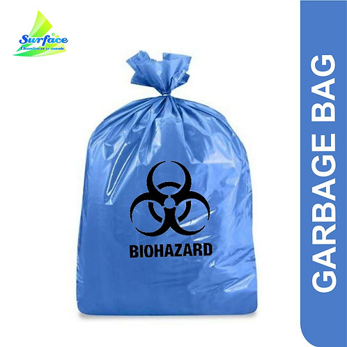 Garbage Bag , Biohazard -Blue