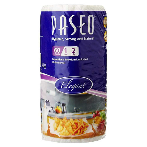 Paseo Tissues Plain Kitchen Towels - 1 Roll