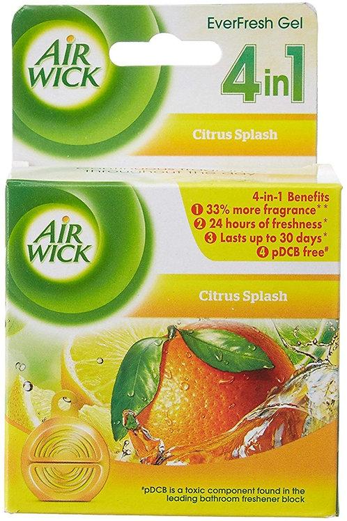 Airwick Everfresh Gel Bathroom Air Freshener - Citrus Splash (50 g)