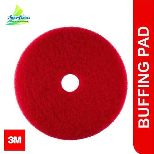 3M Red Buffing Pad , Size 17""