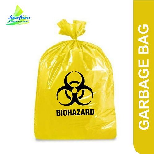 Garbage Bag , Biohazard -Yellow