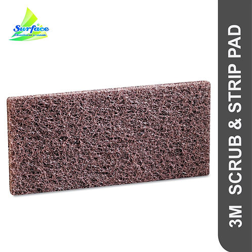 3M Doodlebug Scrub & Strip Pad - Brown
