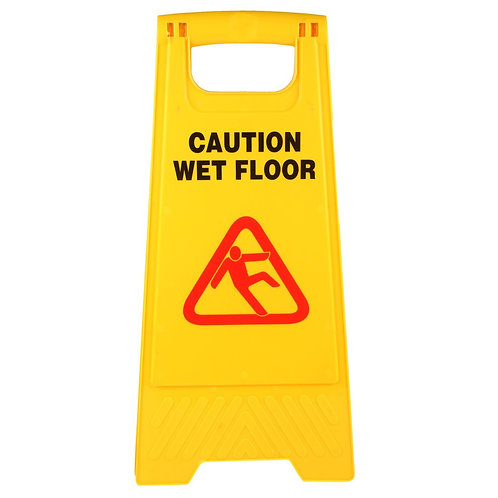 Plastic Caution Board - Standard