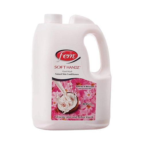 Dabur Fem Soft Handz Soap - 5 L (Saffron & Blossom)