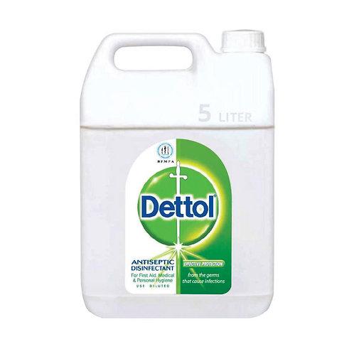 Dettol Antiseptic Liquid - 5ltr