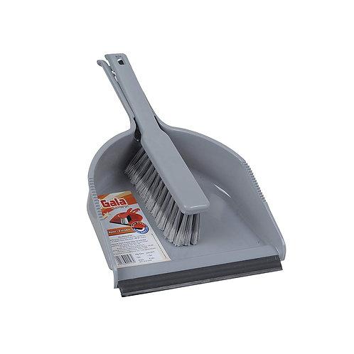 Gala Dustgo Floor Brush Set with Dustpan (Multicolor)