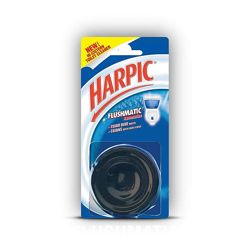 Harpic Flushmatic In-Cistern Toilet Cleaner (Aquamarine) - 50 g