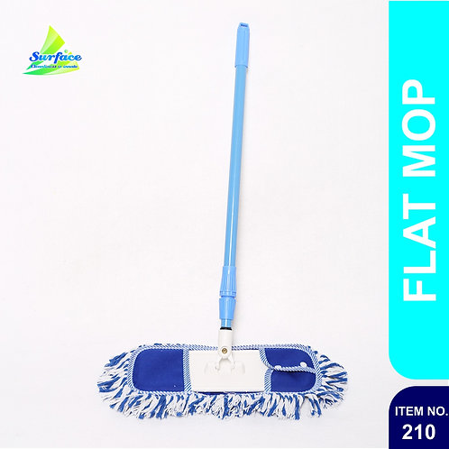 210 Flat Mop With Foldable Handle