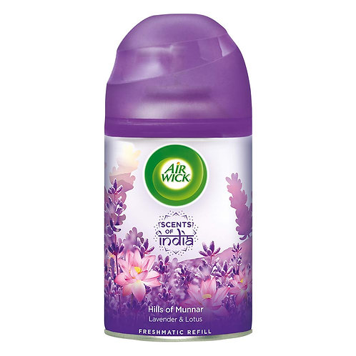 Airwick Freshmatic 'Scents of India' Air-freshner Refill, Hills of Munnar - 250