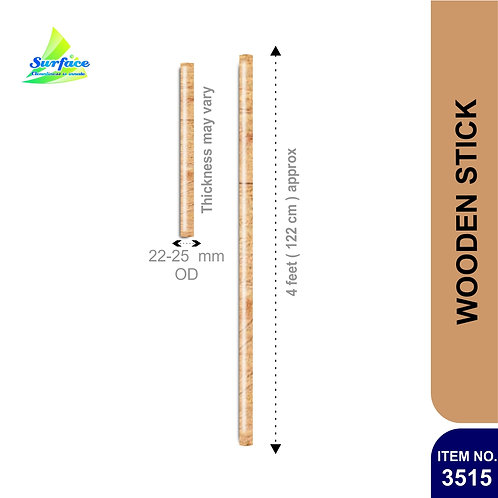 3515 Wooden Stick - 4 ft