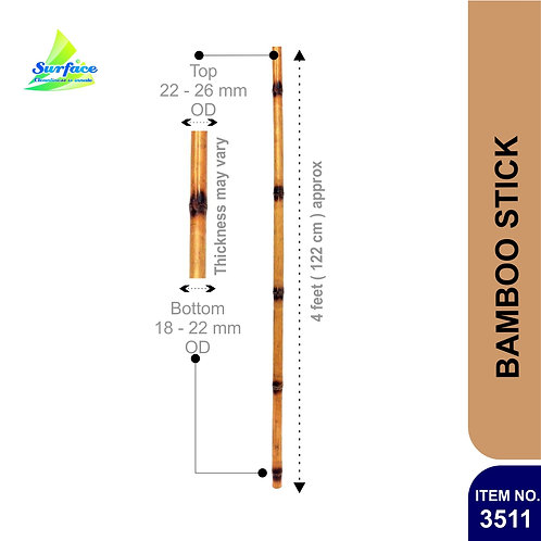 3511 Bamboo Stick - 4 ft