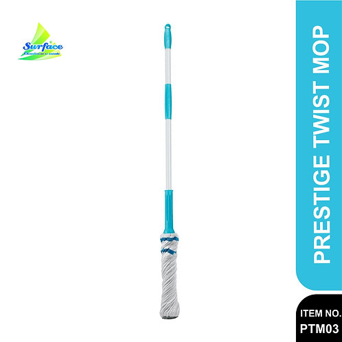 Prestige PTM-03 Cotton Twister Mop (White and Blue)