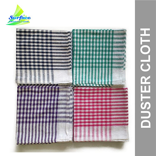 "6240 Check Duster Cloth , Size  22"" x 22""- 1 Pcs"