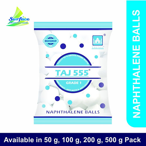 T100 Taj 555 Naphthalene Balls - 100 g Pack