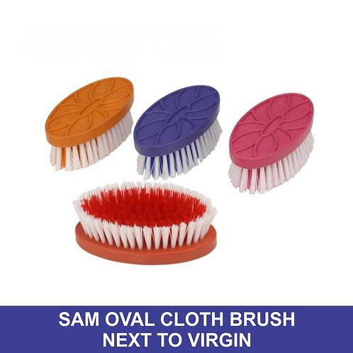 Sam Oval Cloth Brush, Next To Virgin ( Random Colour )