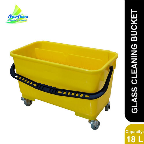 Glass Cleaning Bucket , 18 L